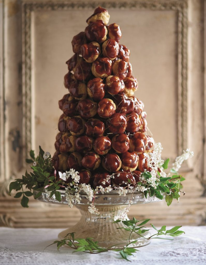 Croquembouche Recipe & How-To on Cake-Geek.com from Naked Cakes by Hannah Miles