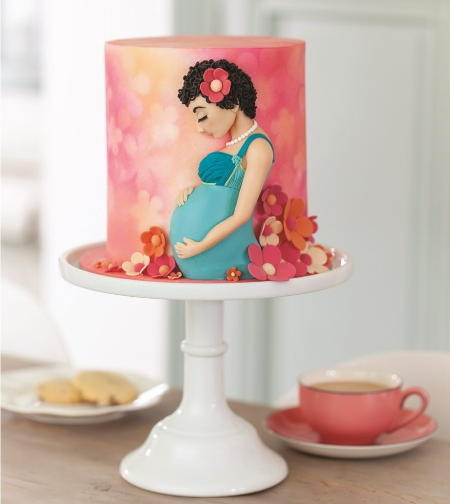 Baby shower cake tutorial by Lindy Smith on Cake-Geek.com