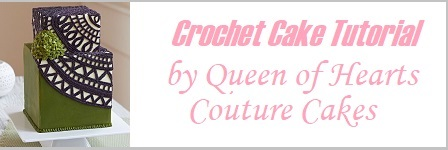 Buttercream Crochet Cake Tutorial by The Queen of Hearts Couture Cakes on Cake-Geek.com