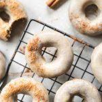 No Bake Vegan Donuts Pumpkin Spice Latte Donuts on Cake-Geek.com