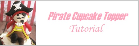 Pirate cake topper tutorial on Cake-Geek.com