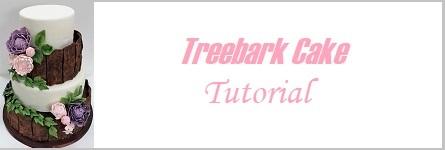 Treebark cake tutorial on Cake-Geek.com