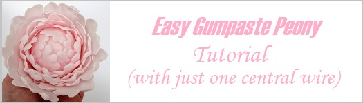 Gumpaste Peony Tutorial on Cake Geek Magazine
