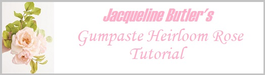 Jacqueline Butler's Gumpaste Heirloom Rose Tutorial on Cake-Geek.com