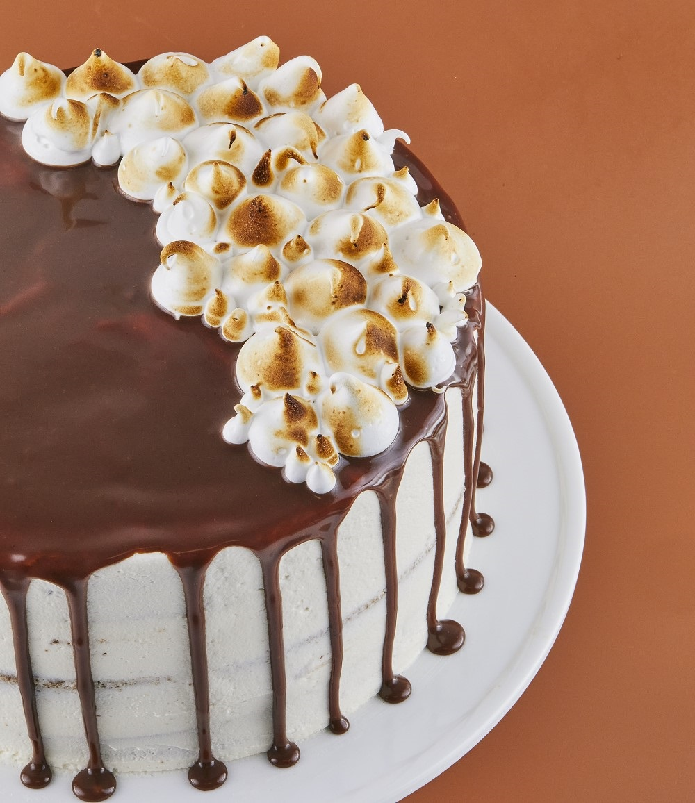 S'Mores Cake Recipe on Cake-Geek.com from Dana's Bakery by Dana Pollack